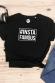 Insafamous - T-shirt coupe droite