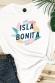 Isla Bonita - T-shirt coupe droite
