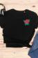 Rose - T-shirt unisexe