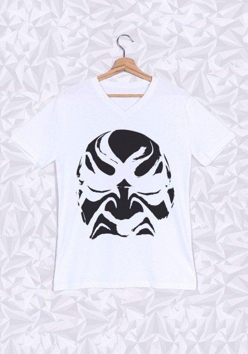 Samourai T-shirt Homme Col V