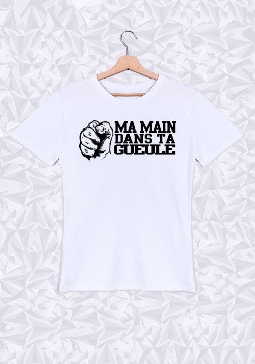 Ma main dans ta Gueule T-shirt Homme Col Rond