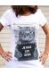 T-shirt femme - Chat je hais les gens