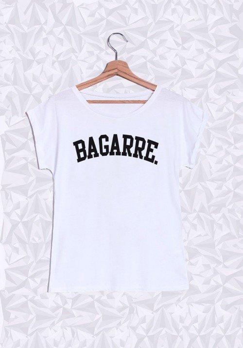 Bagarre T-shirt Femme Manches Retroussées