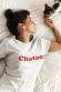 T-shirt Femme - Chaton (Effet Velours)