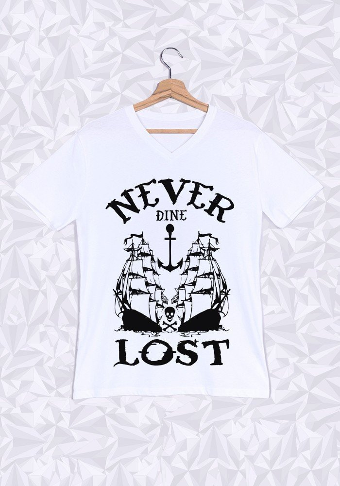 Tshirts Homme Never Lost