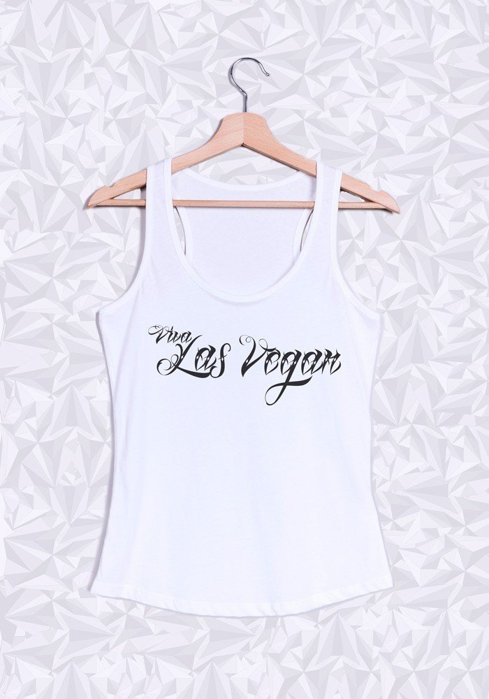 Débardeur Femme Viva Las Vegan