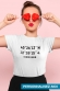 T-shirt Femme - Coordonnées gps personnalisable