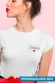 T-shirt Femme - Date coeur personnalisable