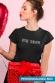 T-shirt femme personnalisable typo Bâton