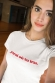 T-shirt femme - j'irai où tu iras - Céline (effet velours)