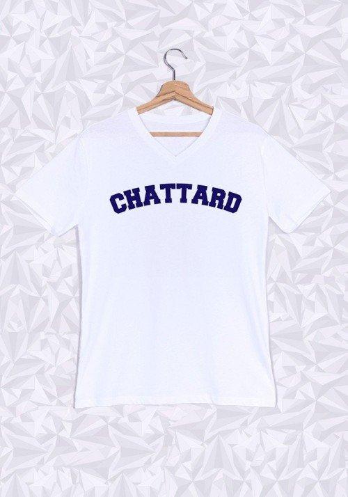 Chattard T-shirt Homme Col V