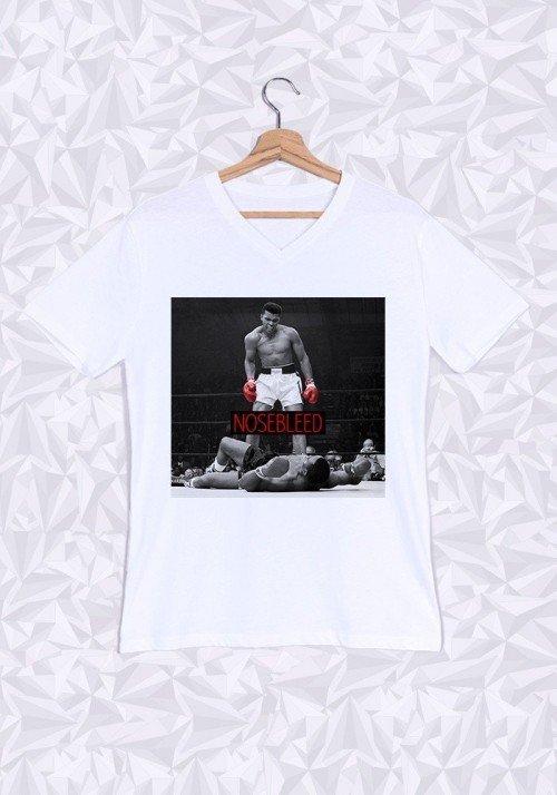 Ali Nosebleed T-shirt Homme Col V