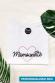 T-shirt femme - Coeur rose personnalisable