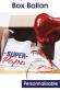 Box Ballon Fête des pères avec Pochette personnalisable