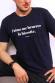 T-shirt Homme - J'aime me beurrer la biscotte