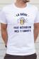 T-shirt homme - La bière fait rétrécir mes T-shirts