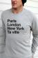 PARIS LONDON NY - Sweat Homme à personnaliser