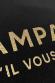 T-shirt femme - Champagne s'il vous plait - Effet glitter