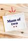 Mum of one - pochette