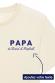 T-shirt Papa prénoms personnalisable