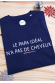 Le Papa idéal n'a pas de cheveux - T-shirt Homme