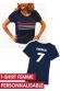 T-shirt Femme - Supporter France Personnalisable (non officiel)