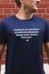 T-shirt Homme - Pourquoi se contenter de boire du Bordeaux quand vous voulez être ivre ?