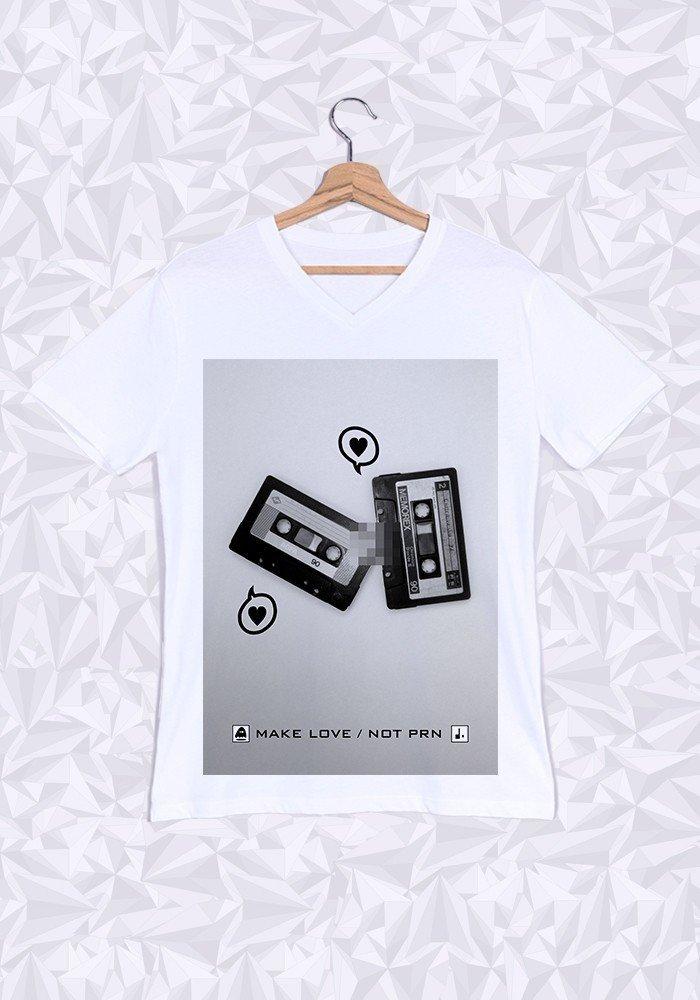 Tshirts Homme Cassette Love