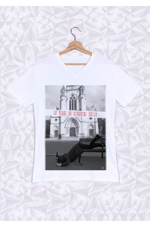 Fat Mess T-shirt Homme Col V