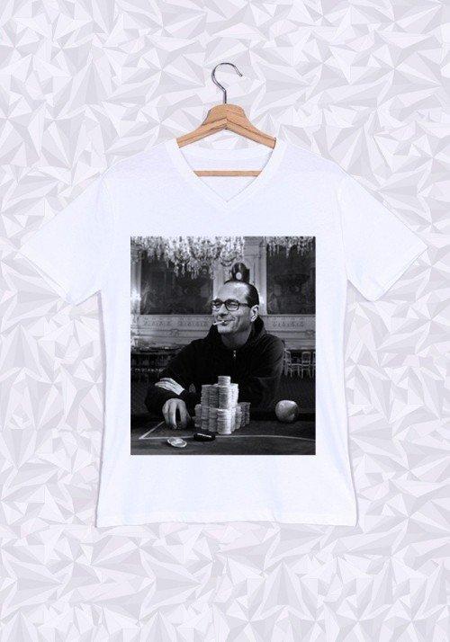Gambling Chichi T-shirt Homme Col V