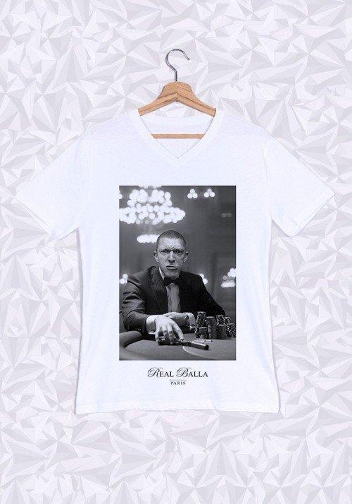 La Haine T-shirt Homme Col V