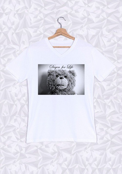 Ted Degen T-shirt Homme Col V