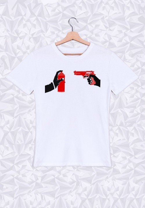Just Hands T-shirt Homme Col Rond