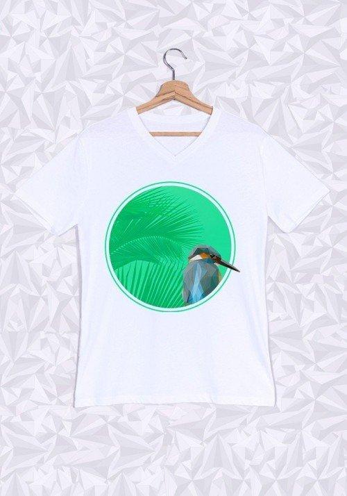Colibri T-shirt Homme Col V