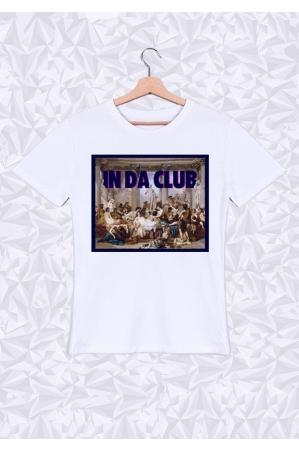 In Da Club T-shirt Homme Col Rond