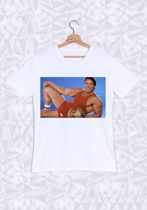 Schwarzy T-shirt Homme Col V