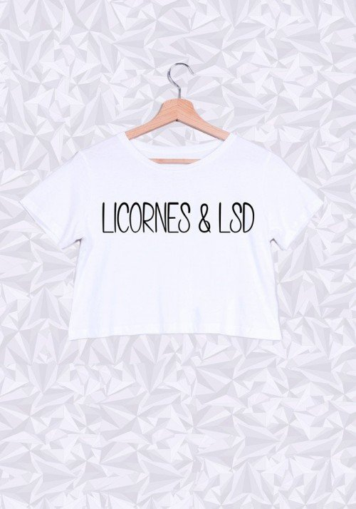 Crop Top Licornes & LSD