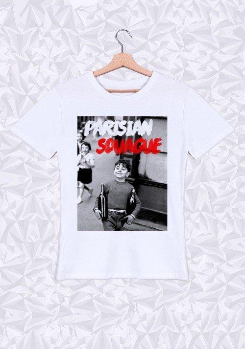 Parisian Souague T-shirt Homme Col Rond