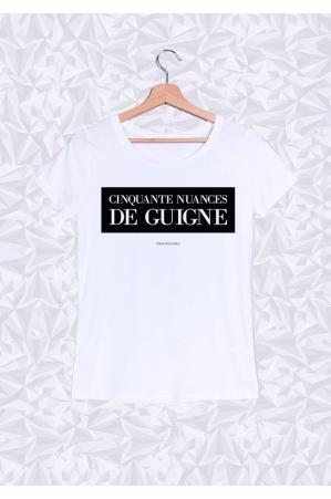 50 Nuances de Guigne T-shirt Femme Col Rond