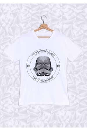 Troopers division T-shirt Homme Col V
