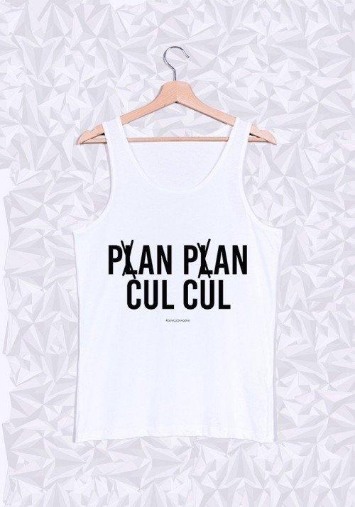 Plan Plan Cul Cul Débardeur Homme