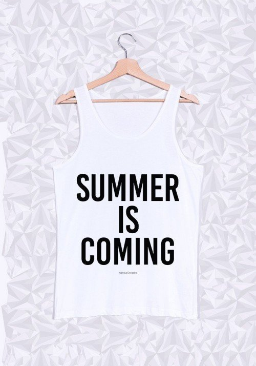 Summer is coming Débardeur Homme