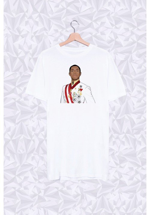 Long Shirt Pharrell Buste