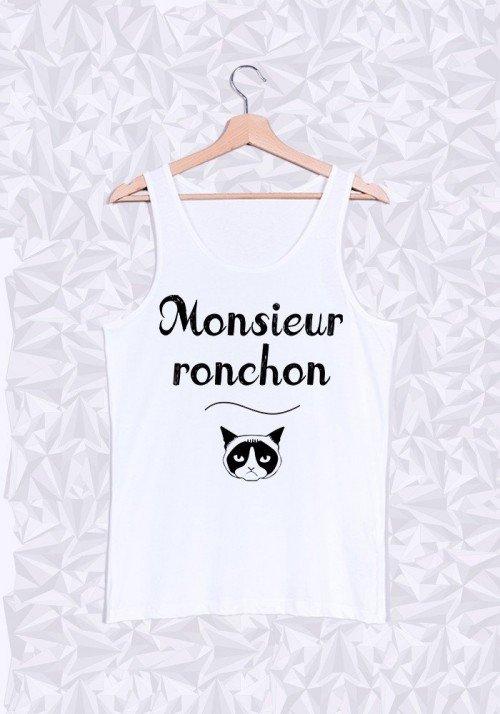 Monsieur Ronchon Débardeur Homme