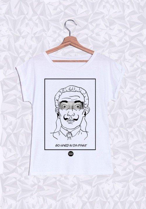 Dali T-shirt Femme Manches Retroussées