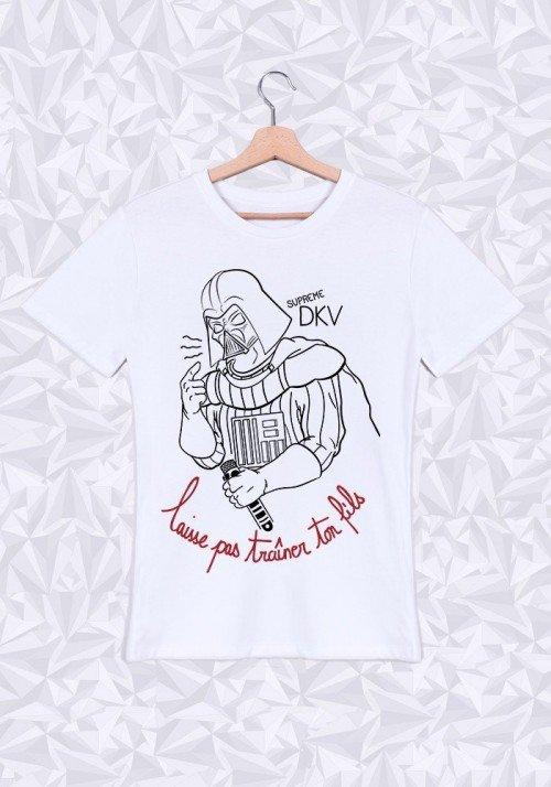 Supreme Dark T-shirt Homme Col Rond