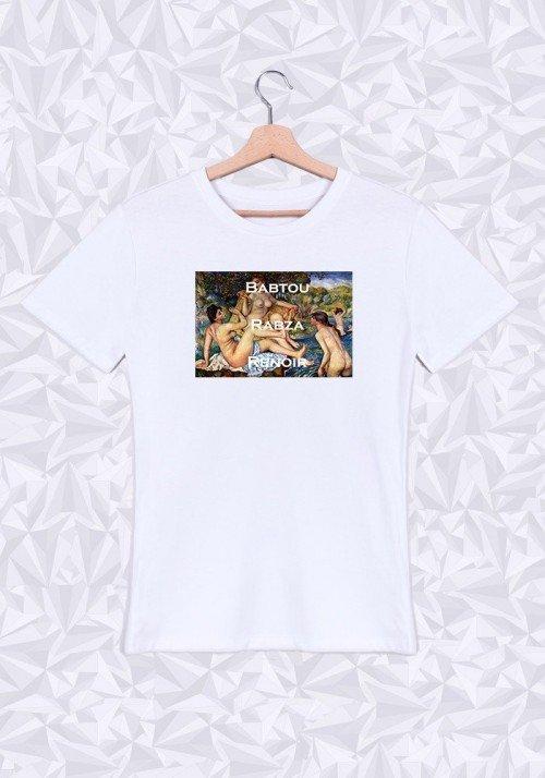 Babtou Rabza Renoir T-shirt Homme Col Rond