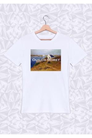 Ouaich Moret T-shirt Homme Col Rond