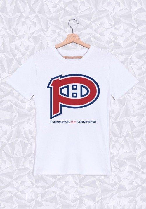 Parisiens de Montréal T-shirt Homme Col Rond