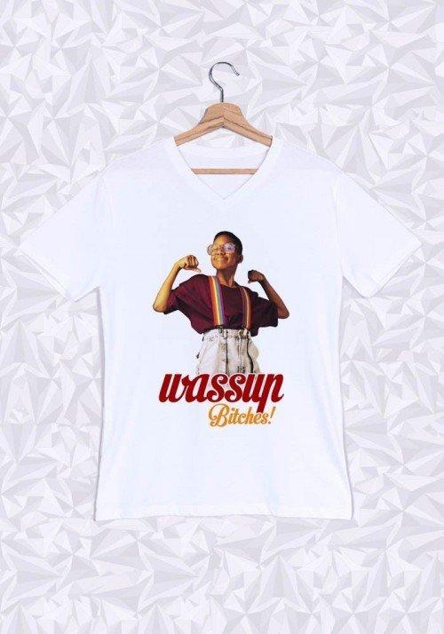 Wassup Bitches T-shirt Homme